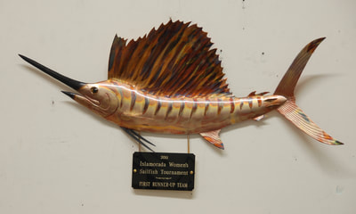 copper fish art