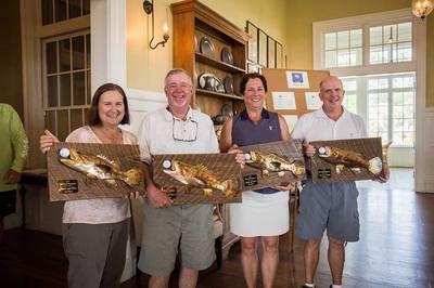 copper fish trophies